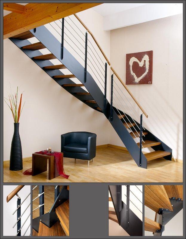 moderne treppen treppen jakob. Black Bedroom Furniture Sets. Home Design Ideas